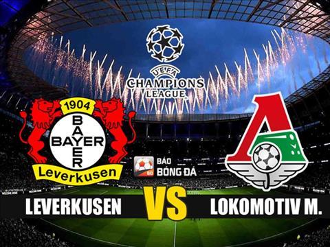 Nhận định Leverkusen vs Lokomotiv Moscow 2h00 ngày 19/9 (Champions League 2019/20) - www.TAICHINH2A.COM