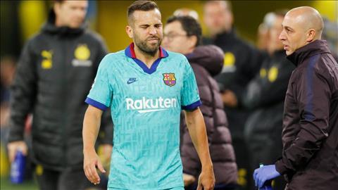 Không thắng Dortmund, Barca còn mất trụ cột do chấn thương hình ảnh