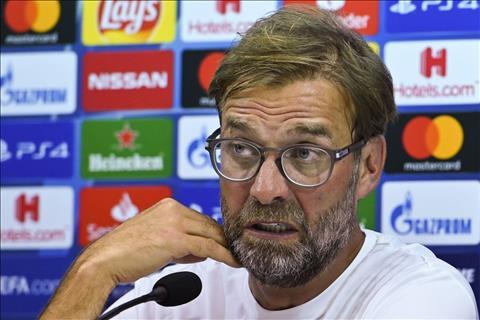 HLV Klopp phát biểu sau trận Napoli vs Liverpool hình ảnh