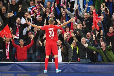 Erling Braut Haaland san bằng kỷ lục của Rooney tại Champions League hình ảnh