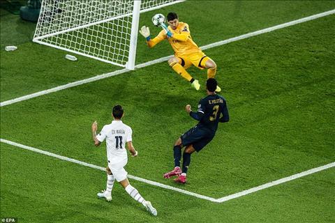Những điểm nhấn trong trận đại chiến một chiều giữa PSG vs Real Madrid hình ảnh 2
