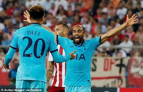 Olympiakos 2-2 Tottenham Dẫn trước 2 bàn, Spurs vẫn không thể thắng ở trận mở màn Champions League 201920 hình ảnh 2