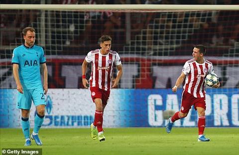 TRỰC TIẾP Olympiakos 2-2 Tottenham (H2) Chủ nhà gỡ hòa trên chấm 11m hình ảnh 3