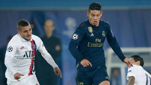 James Rodriguez nói về trận PSG vs Real Madrid hình ảnh