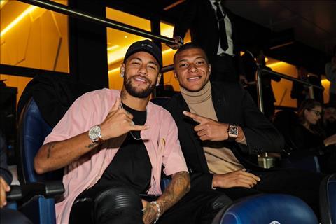 Neymar Mbappe vs Real