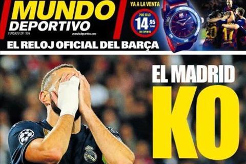 Real Madrid bị truyền thông Tây Ban Nha đánh tơi bời sau thất bại bẽ bàng hình ảnh