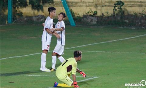 DT U16 Viet Nam thang U16 Mong Co de vuon len vi tri dan dau bang H vong loai U16 chau A 2020.