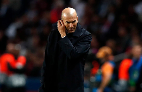 HLV Zidane dang gap phai ap luc lon
