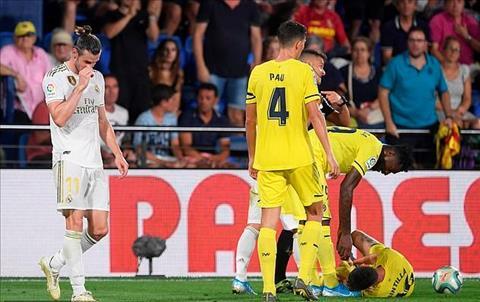 Bale nhan the do truoc Villarreal