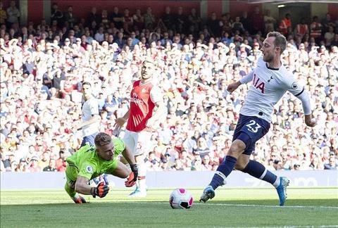 Hàng thủ Arsenal tiếp tục mắc sai lầm Pháo thủ may mắn cầm hòa Spurs hình ảnh