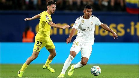 Tiền vệ Casemiro Real Madrid không có điểm sáng nào trước Villarreal hình ảnh
