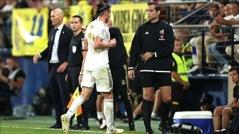 Nhận thẻ đỏ, Gareth Bale vẫn được Zidane tán dương hết lời hình ảnh