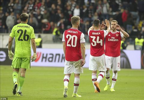 Arsenal 3-0 Frankfurt