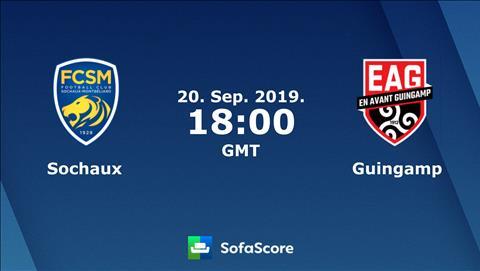 Sochaux vs Guingamp 1h00 ngày 219 Hạng 2 Pháp 201920 hình ảnh