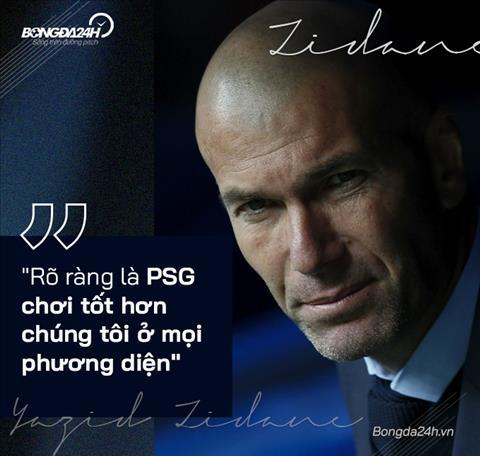 info HLV Zidane phat bieu