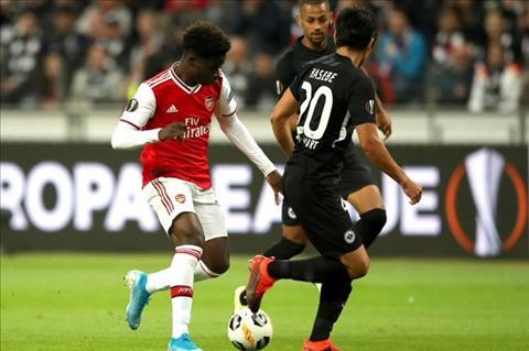 Những thống kê đáng nhớ sau trận đấu Frankfurt 0-3 Arsenal hình ảnh
