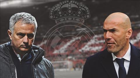 HLV Mourinho thay Zidane ở Real Madrid hình ảnh
