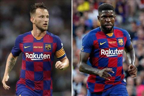 Chuyển nhượng Barca bán Rakitic và Umtiti ở Hè 2020 hình ảnh
