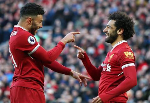 VIDEO Oxlade Chamberlain giải thích vì sao Salah không chuyền bóng hình ảnh