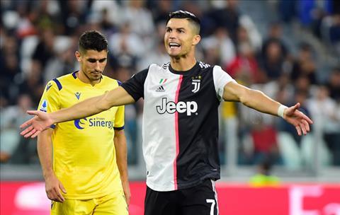 Juventus 2-1 Verona Ronaldo nổ súng trên chấm 11m, Lão bà thắng gian nan hình ảnh 5