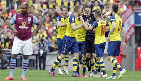Arsenal luon choi cuc tot truoc Aston Villa