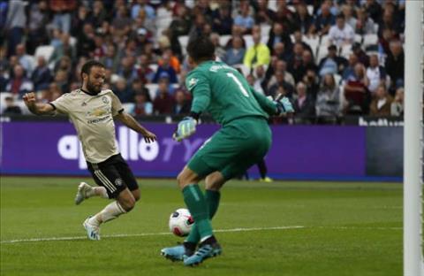 Mata West Ham vs MU