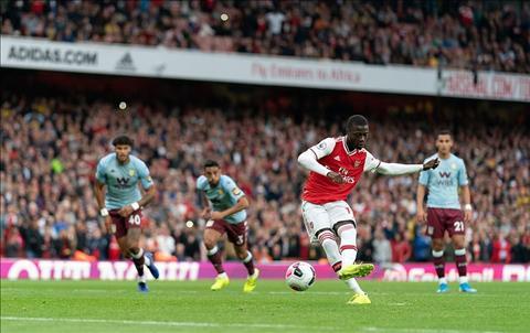 Arsenal 3-2 Aston Villa vòng 6 Premier League 201920 hình ảnh