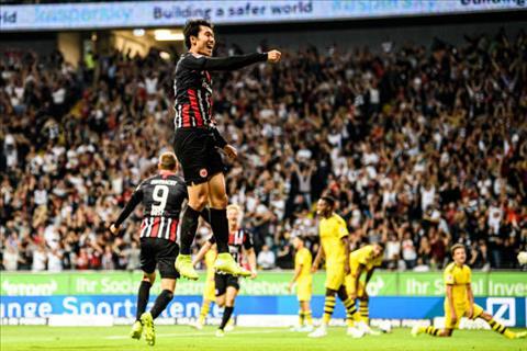 Bàn thắng kết quả Frankfurt vs Dortmund 2-2 Bundesliga 201920 hình ảnh