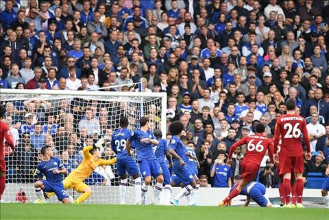 Chelsea vs Liverpool Alexander-Arnold da phat thanh cong