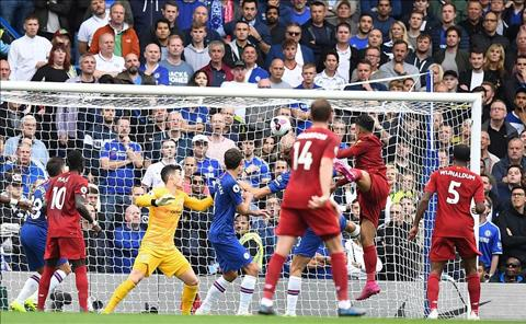 Chelsea vs Liverpool Firmino ghi ban