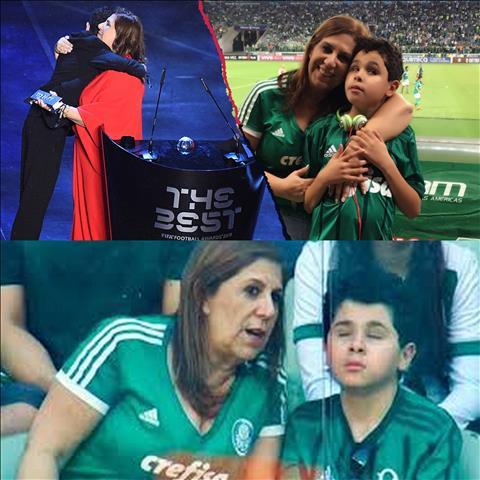 Cau chuyen xuc dong cua ba me va cau con trai khiem thi dat giai CDV xuat sac nhat cua FIFA 20192