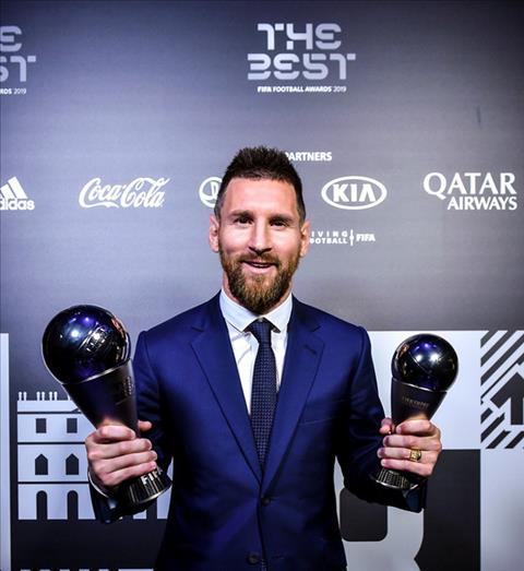 Messi nói gì sau khi nhận giải thưởng The Best 2019  hình ảnh