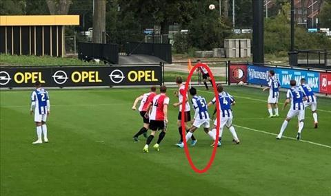 Video 5 bàn thắng trận đấu Văn Hậu ra mắt Heerenveen vs Feyenoord hình ảnh
