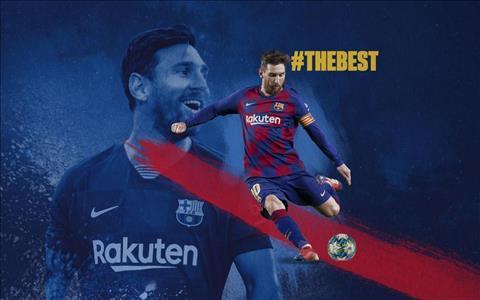 Video Khoảnh khắc Lionel Messi giành danh hiệu The Best 2019 hình ảnh