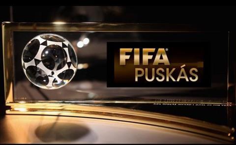 Messi truot giai thuong ban thang dep Puskas Award vao tay cau thu 18 tuoi