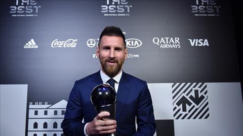 Messi lập thành tích chưa từng có sau danh hiệu The Best 2019 hình ảnh