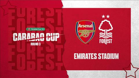 Trực tiếp bóng đá Arsenal vs Nottingham League Cup ở đâu  hình ảnh