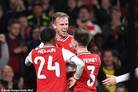 Arsenal 5-0 Nottingham Thắng lợi hoàn hảo của dàn Pháo thủ B hình ảnh 4
