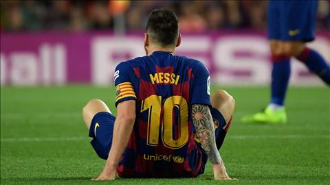 Lionel Messi dính chấn thương ở trận thắng Villarreal hình ảnh