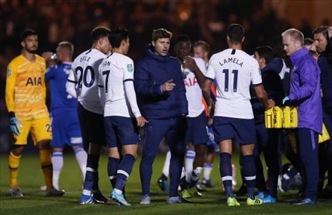 HLV Pochettino nói về trận Colchester vs Tottenham hình ảnh