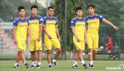 Co den 5 cau thu phai tap rieng gom Ha Duc Chinh, Martin Lo, Trong Hung, Trong Dai va Quang Nho.