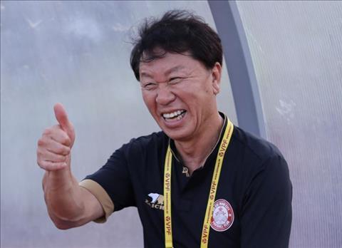 HLV Chung Hae Seong Trọng tài đã thiên vị CLB Hà Nội hình ảnh