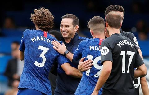HLV Lampard va hoc tro Chelsea