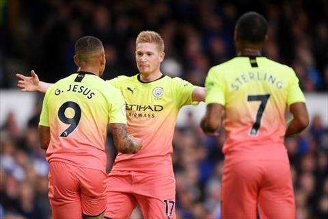 Everton vs Man City