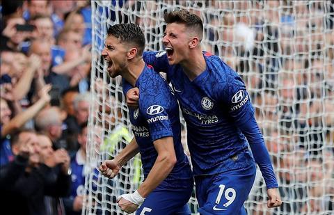 Chelsea vs Brighton Jorginho ghi ban