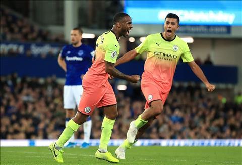 Thống kê Everton 1-3 Man City The Citizens lập kỷ lục hình ảnh