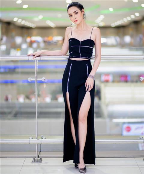 Nhan sắc vượt trội của bạn gái Messi Thái khiến fan xuýt xoa hình ảnh