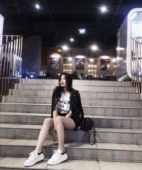 vẻ đẹp bạn gái hậu vệ Đoàn Văn Hậu hình ảnh 5