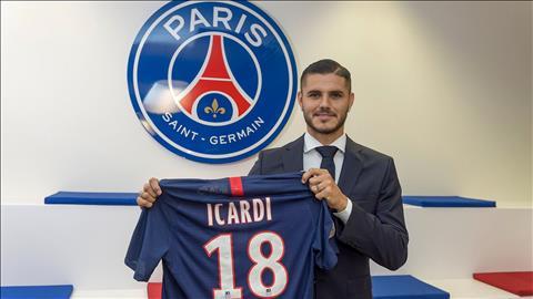 Tiền đạo Icardi mừng ra mặt sau khi rời khỏi địa ngục Inter hình ảnh