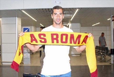 Tiền vệ Henrikh Mkhitaryan quyết lấy lại sự nghiệp tại Roma hình ảnh